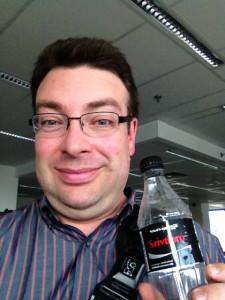 Michael M with Coca Cola