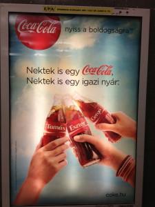Hungarian Coca-Cola ad