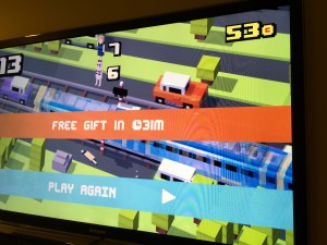 Crossy Roads for AppleTV